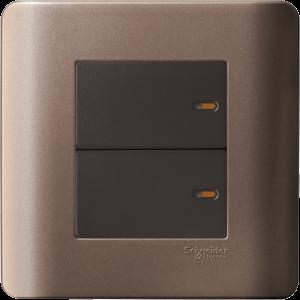 Schneider – ZENcelo Switch E8432/2-SZ