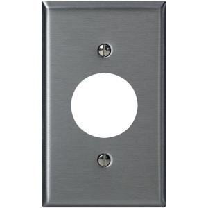 Leviton – Stainless Steel Wall Plate 84028