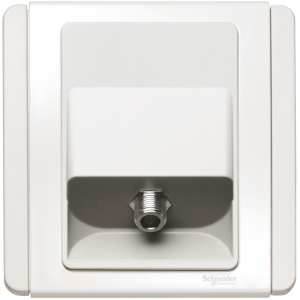 Schneider – Neo C-Metro 1 Gang F-Connecting TV Outlet E3031TVF-WW