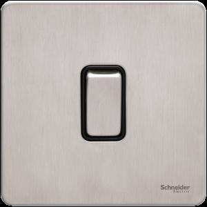 Schneider – Ultimate Screwless flat plate GU1412BSS
