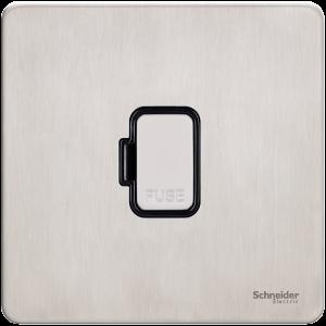 Schneider – Ultimate Screwless flat plate GU5400-BSS