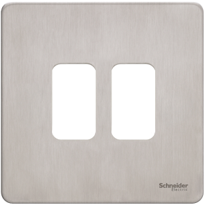 Schneider – Ultimate Screwless Plate Grid System GUGS02GSS