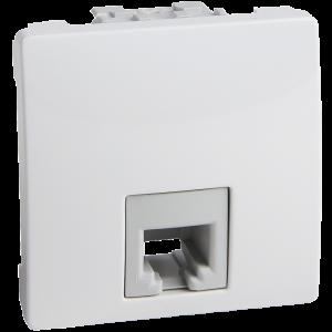 Schneider – Unica telephone socket – RJ11 MGU3.492.18