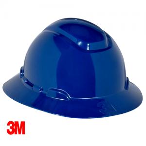 3M – Full Brim Hard Hat Safety Helmet H-803R