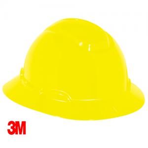 3M – Full Brim Hard Hat Safety Helmet  H-802R