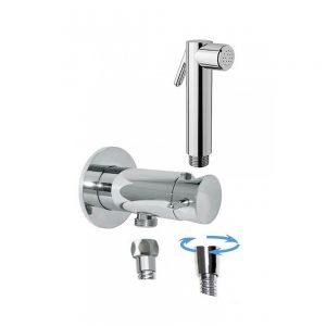 inGENIUS – Shut-off Hand Shower Safety Closure Set Brass Chrome Plated IG714R