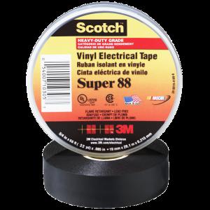 3M™ – Scotch™ Super 88 Black Tape