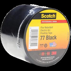 3M™ – Scotch™ 77 Black Tape 1.5 in
