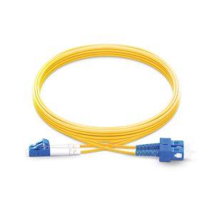 3M™ – ADADV-BW0010, Fiber Patch Cord, SC-LC Duplex Single-Mode