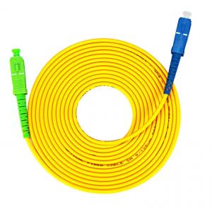 3M™ – AEPDA-AT0005, Fiber Patch Cord, SC/APC, SC/PC, Pa